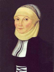 Katharina von Bora, malt ca 1530.
