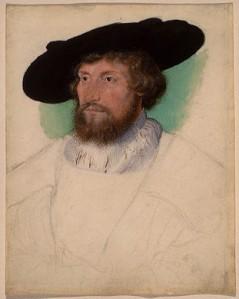 Christian II av Danmark - Norge, malt 1523.