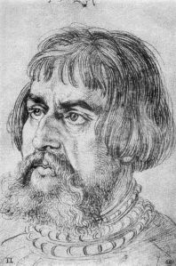 Cranach, portrettert av Albrecht Dürer