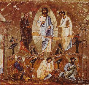 Mosaikk fra Katarinaklosteret ved Sinaifjellet