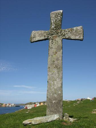 Stone_cross,_Leiasundet,_Kvitsøy_Rogaland
